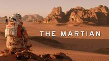 The Martian as part of the Art Department's Mars: Astronomy and Culture Exhibit