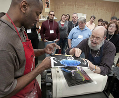 Printmaking as worship