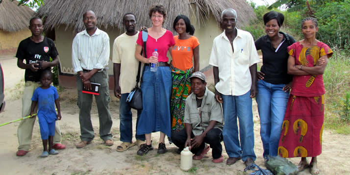 Since she came to Calvin a decade ago, Amy Patterson has researched extensively in Africa. Last year she researched HIV support groups in Zambia as a Fulbright Scholar.
