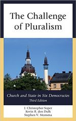 The Challenge of Pluralism: Church and State in Six Democracies 3rd Edition cover image.