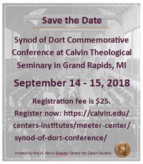 Synod of Dordt Conference