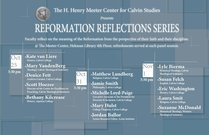 Reformation Reflections Series, Faculty Panel I