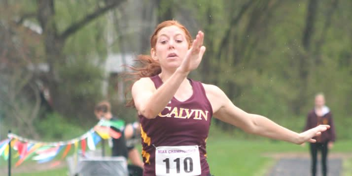 Calvin's best-ever triple jumper talks about her goals.