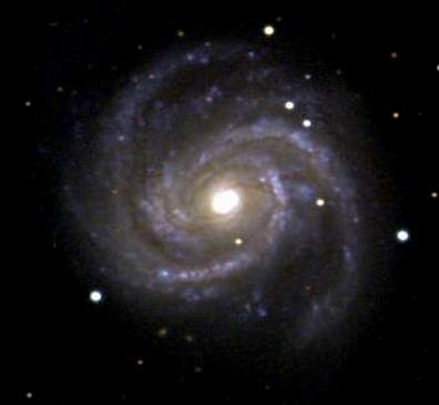Grand Design Spiral Galaxy M100 (Photographed by Chris Beaumont)
