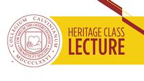 Heritage Class Lecture 2018
