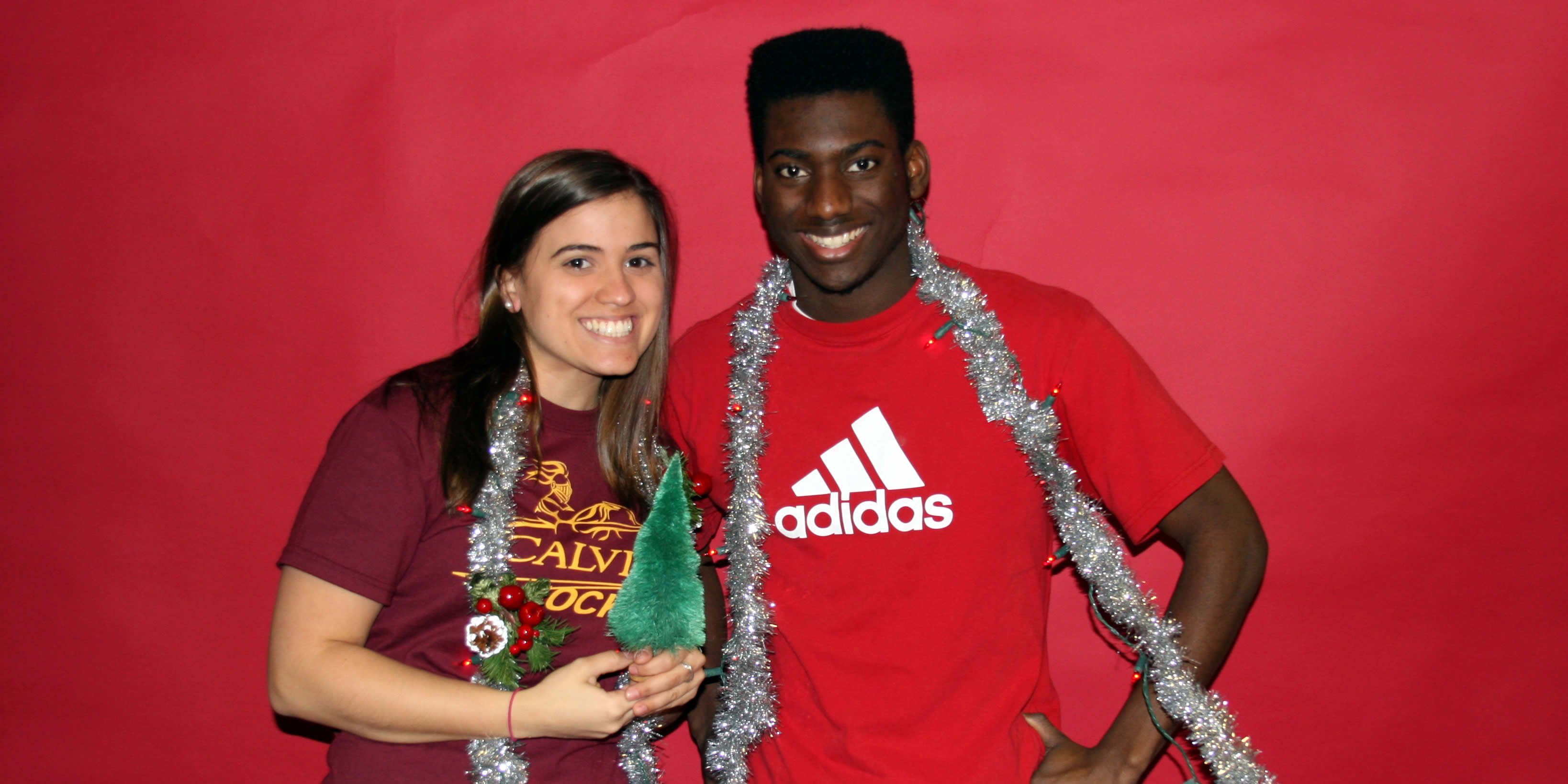 International students who can't go home for the holidays find a Christmas atmosphere at Knollcrest East.