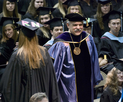 At the 2006 Commencement