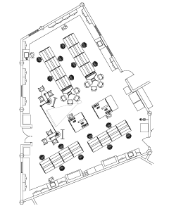 Lab floor plan