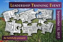 2017 Leadership Training Event