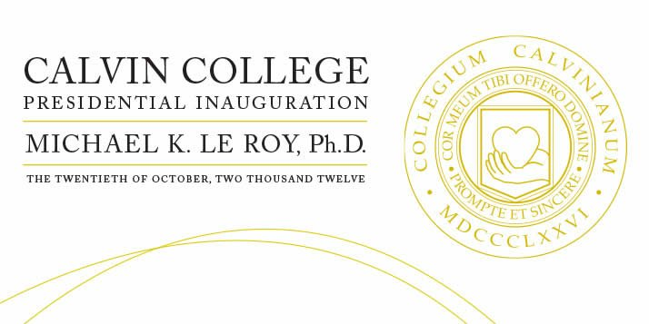 Nine days of celebration will culminate in the inauguration of President Michael K. Le Roy.