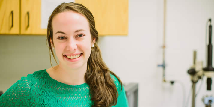 Abigail Leistra is Calvin's 15th Goldwater Scholar since 2008.