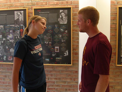 Kristi Zietse and Zach Willis debate past winners.