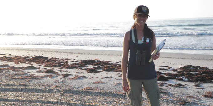 Calvin alumna works with U.S. Fish and Wildlife Service to protect Florida's ecosystem.