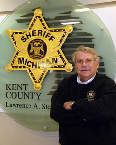 Earl Fife at the Kent County Sheriff's Department