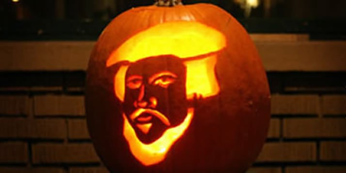 Get a template to carve your pumpkin in the image of the Reformer.