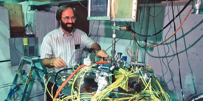 Gerald Gabrielse '73 is the George Vasmer Professor of Physics at Harvard University.