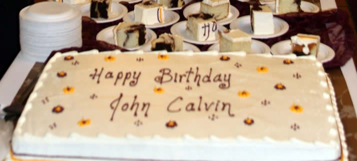 Calvin College will celebrate a milestone birthday in honor of its namesake, John Calvin, this week.