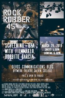 Rock Rubber 45s film screening and Q&A with Bobbito Garcia