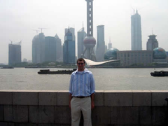 Cottingham in Shanghai