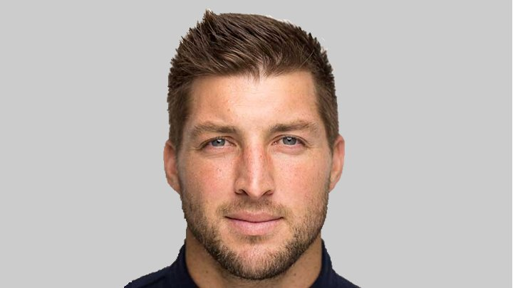 Publicity shot of Tim Tebow