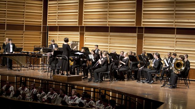 Wind Ensemble and Forest Hills Northern
