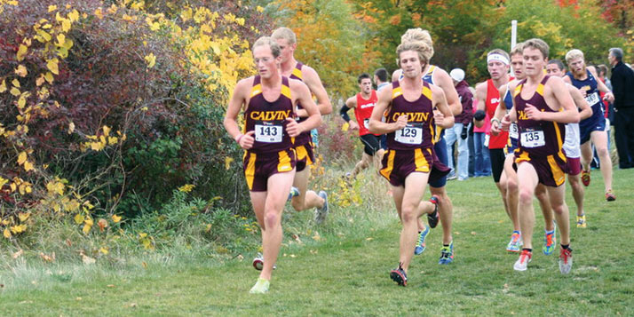 The Calvin men's and women's cross country teams will compete  this Saturday in Terre Haute, Indiana.