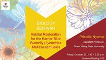 Habitat restoration for the Karner blue butterfly (Lycaeides melissa samuelis)