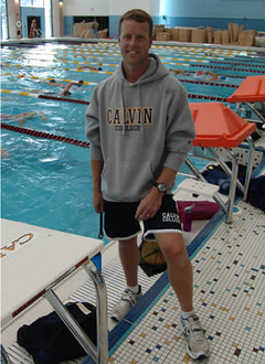 Swimming Coach Dan Gelderloos