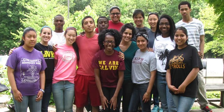 Entrada Scholars at the Blandford Nature Center in Grand Rapids