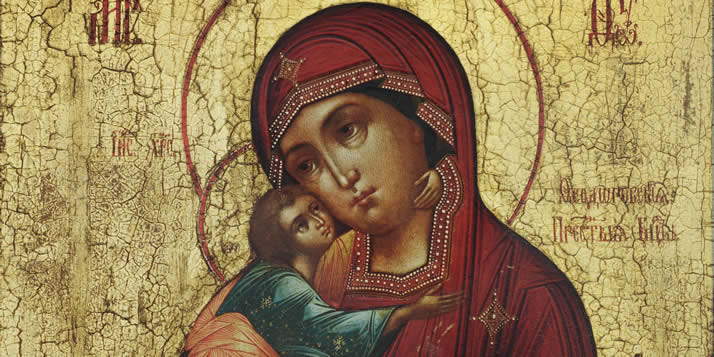 A new exhibition from the Center Art Gallery showcases Russian icons.