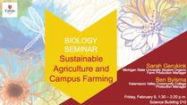 Sustainable Agriculture and Campus Farming