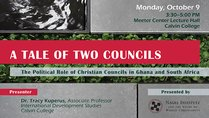 A Tale of Two Councils: The Political Role of Christian Councils in Ghana and South Africa