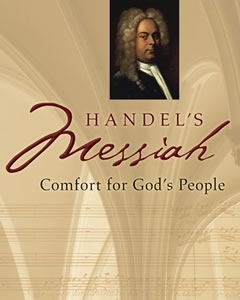 The cover of Handel's Messiah: Comfort by God's People