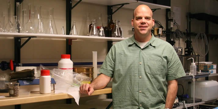 David Wunder is researching ways to improve water quality in developing countries.