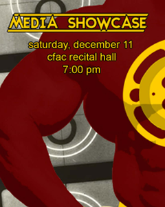 The poster for this year's Media Showcase