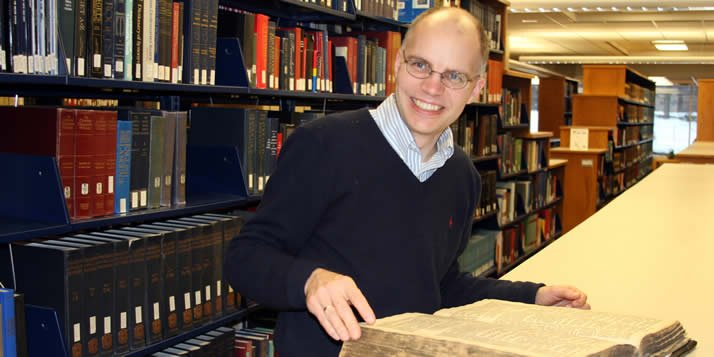 To understand the medieval Christian fascination with the Hebrew Bible, Frans van Liere will study where Einstein studied.