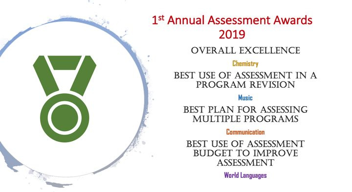 Assessment Award Winners Declaration (for Chemistry, Music, Communication, and World Langagues)