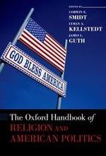 The Oxford Handbook of Religion and Politics cover image.