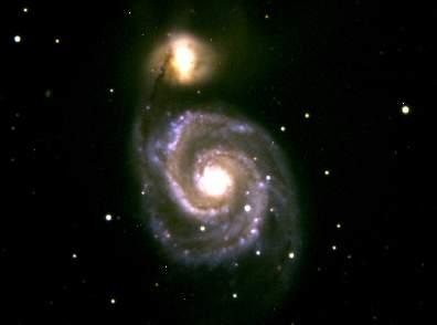M51 (Photographed by Kenton Greene, 2017)