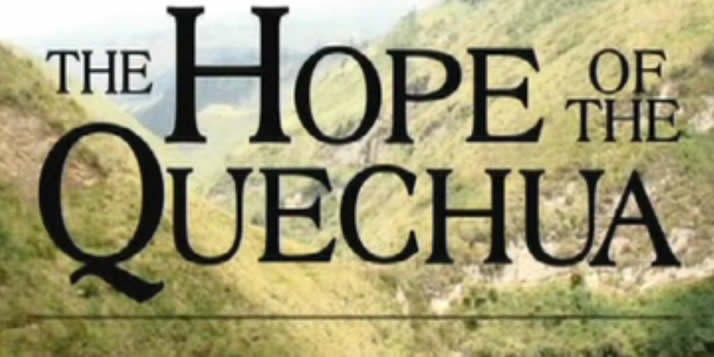 Hope of the Quechua filmed by Calvin CAS professor Brian Fuller was shown at the Arpa International Film Festival, held October 24–26, at Grauman's Egyptian Theater.