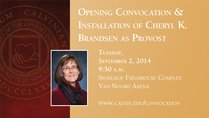 Convocation & Provost Installation