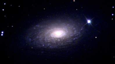 Messier 63 (Photographed by Christian Gums, 2019)