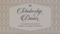 2018 Named Scholarship Dinner