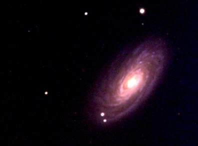 Messier 88 (Photographed by Travis Hanko, 2017)