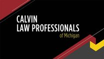 Calvin Law Professionals Lecture and Networking Event
