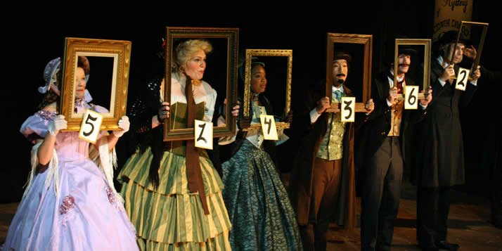 In this musical adaptation of Dickens' unfinished mystery, the audience chooses the outcome.