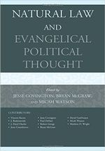 Natural Law and Evangelical Political Thought 1st Edition cover image.