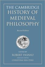 The Cambridge History of Medieval Philosophy cover image.