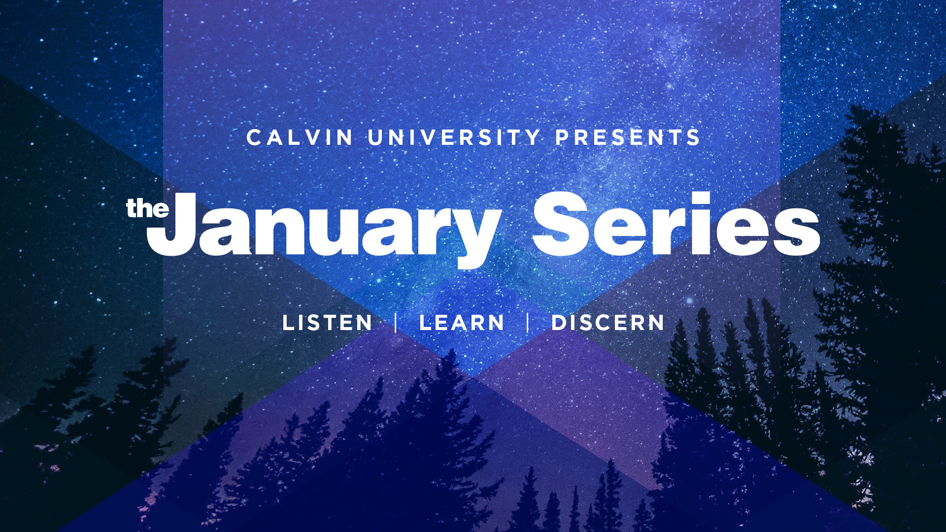 January Series banner