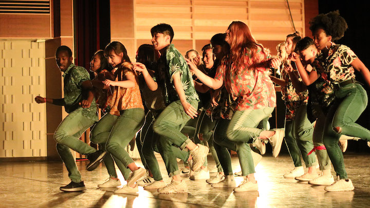 Students performing in Dance Guild